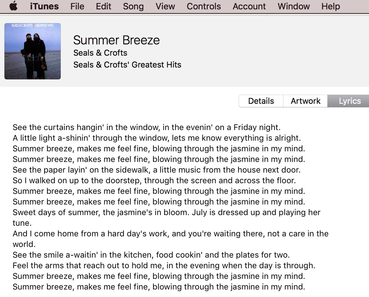 Summerbreeze lyrics by Emiliana Torrini - original song ...